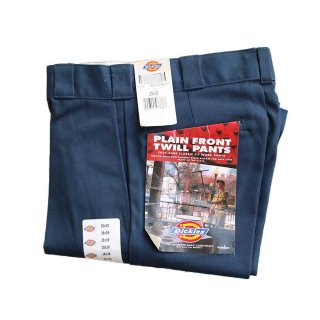 Dickies twill work pants (made in U.S.A.)表記w28×30 Navy