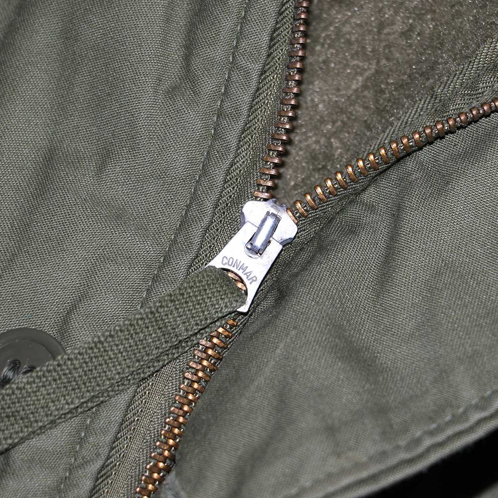 w-means(ダブルミーンズ) U.S.ARMY A-2 ジャケット 表記M アーミーグリーン 詳細画像5