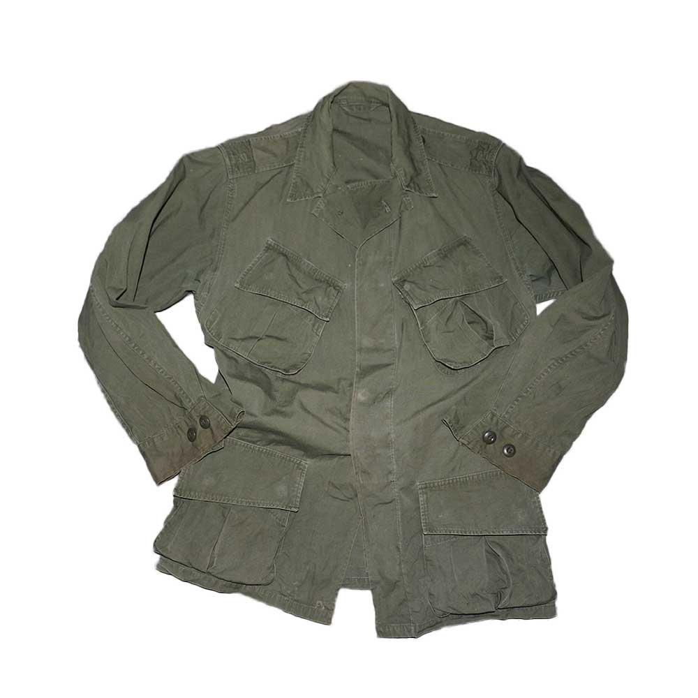 w-means(ダブルミーンズ) US ARMY Type2 Jungle Fatigue Jacket 表記なし アーミーグリーン 詳細画像