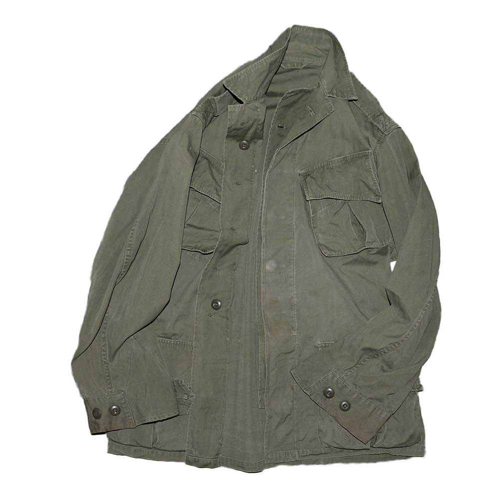 w-means(ダブルミーンズ) US ARMY Type2 Jungle Fatigue Jacket 表記なし アーミーグリーン 詳細画像6