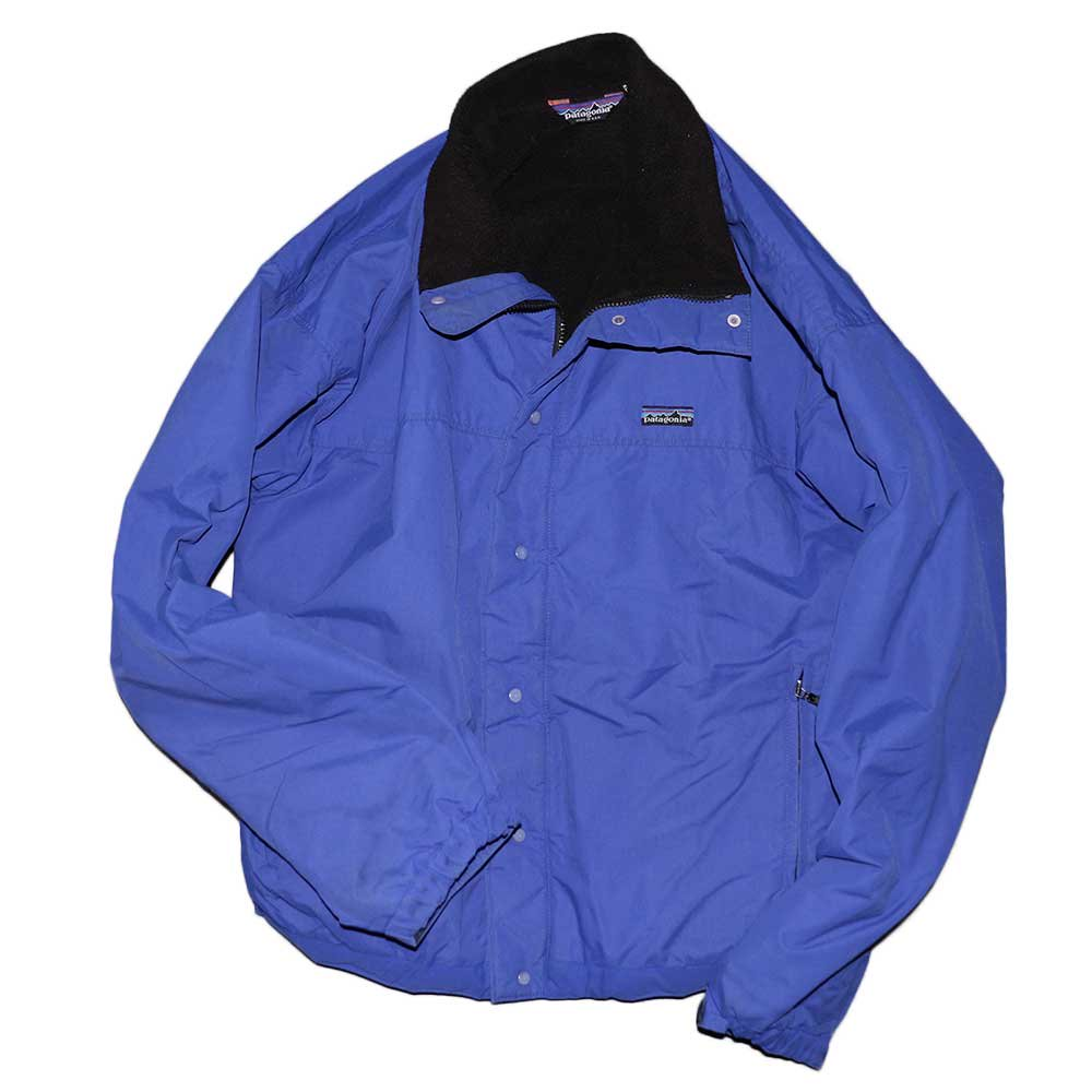 w-means(ダブルミーンズ) Patagonia ナイロンジャケット(Made in U.S.A.)表記xL Blue 詳細画像