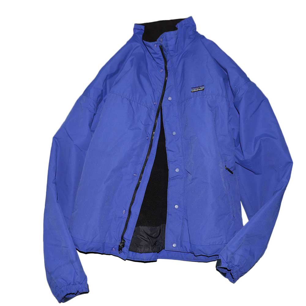 w-means(ダブルミーンズ) Patagonia ナイロンジャケット(Made in U.S.A.)表記xL Blue 詳細画像2