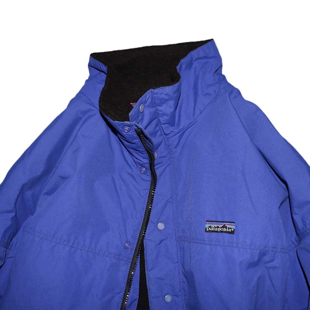 w-means(ダブルミーンズ) Patagonia ナイロンジャケット(Made in U.S.A.)表記xL Blue 詳細画像3