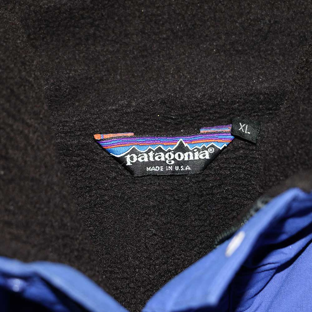 w-means(ダブルミーンズ) Patagonia ナイロンジャケット(Made in U.S.A.)表記xL Blue 詳細画像4