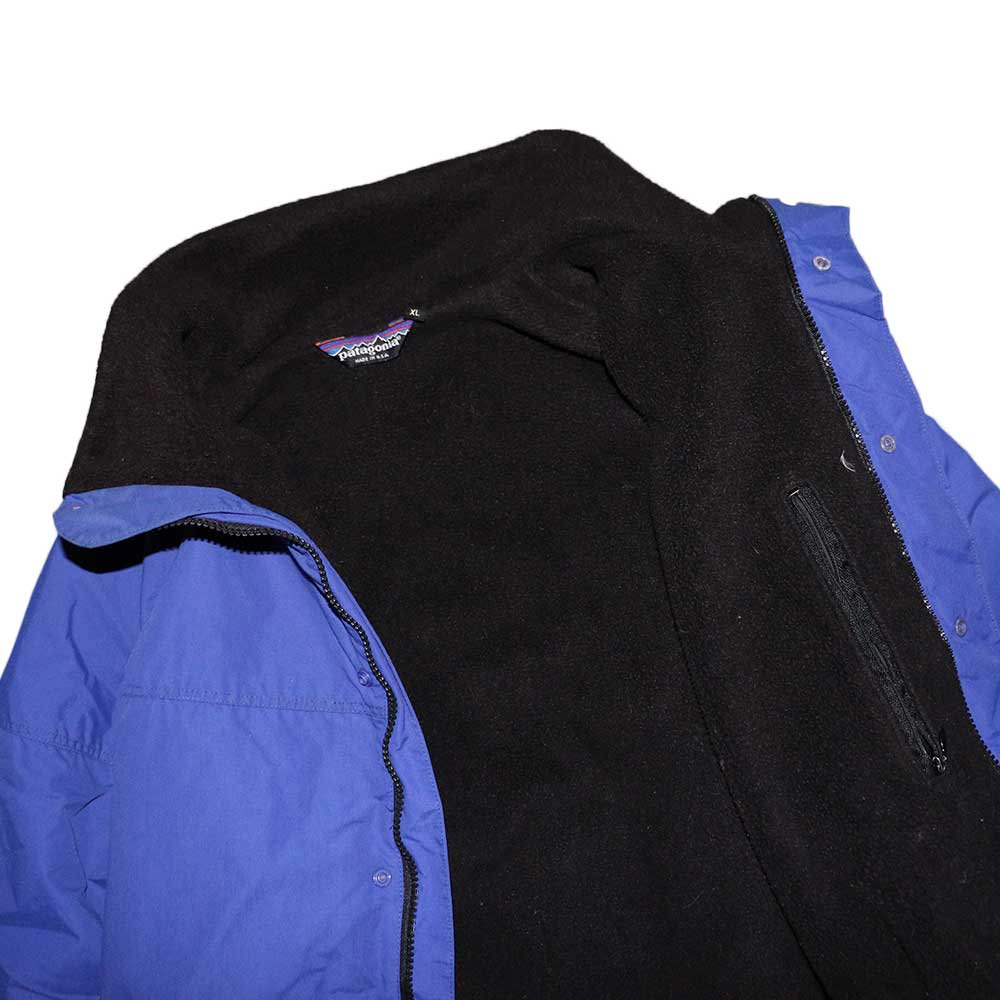 w-means(ダブルミーンズ) Patagonia ナイロンジャケット(Made in U.S.A.)表記xL Blue 詳細画像5