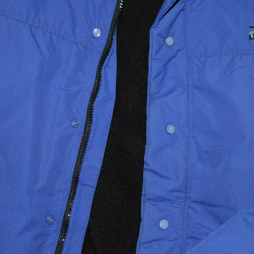 w-means(ダブルミーンズ) Patagonia ナイロンジャケット(Made in U.S.A.)表記xL Blue 詳細画像7
