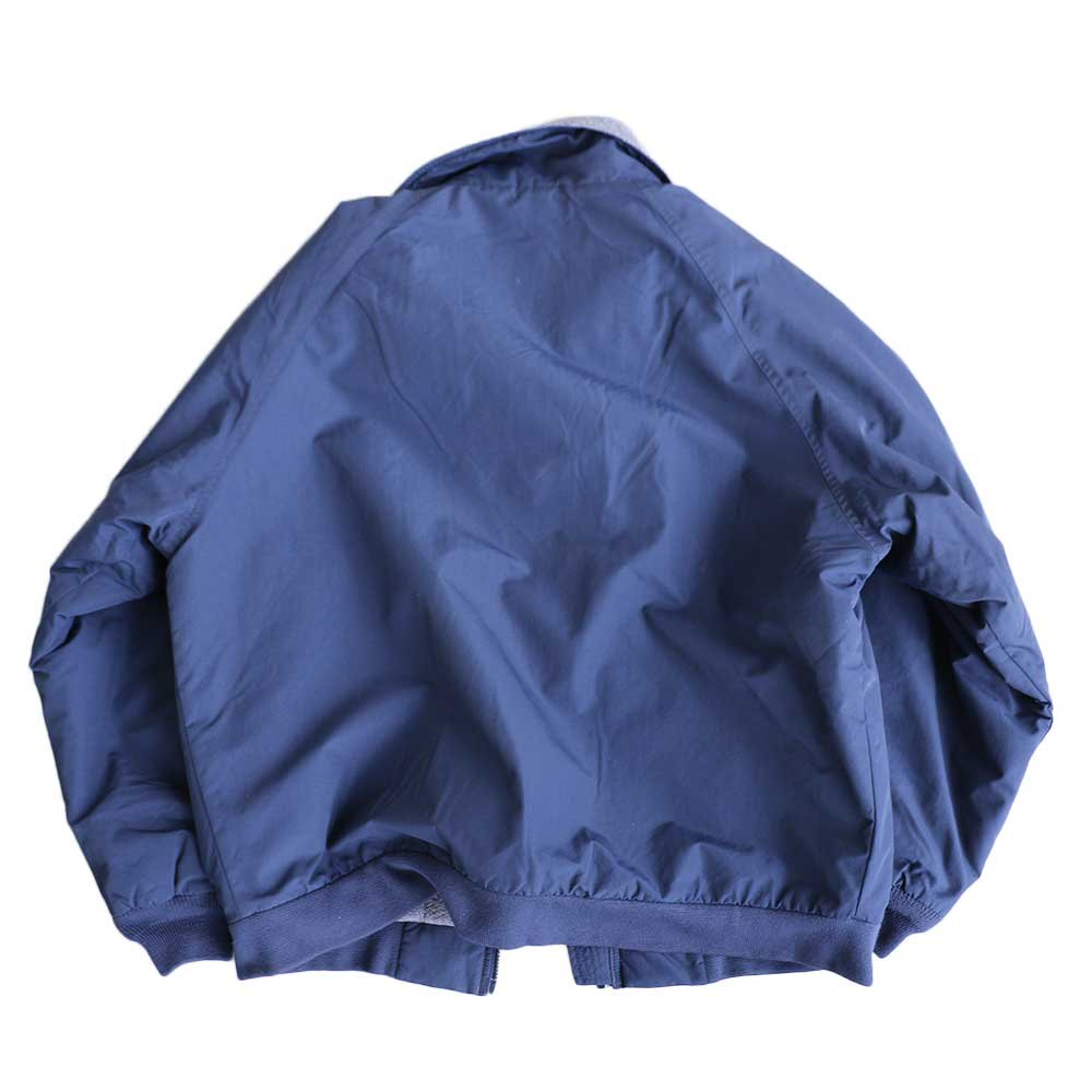 w-means(ダブルミーンズ) LAND'S END WARM-UP JACKET 表記L  NAVY×C.GRAY 詳細画像6