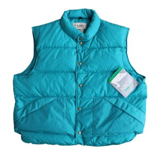 L.L.Bean DOWN VEST(Dead stock)表記xxL  MINT GREEN
