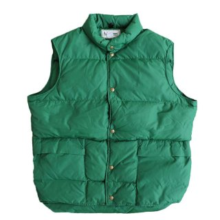 L.L.Bean DOWN VEAST(made in U.S.A.)表記L  FOREST GREEN