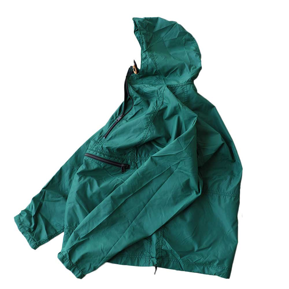w-means(ダブルミーンズ) 80's L.L. Bean 100% Nylon Jacket(Made in U.S.A)表記M FORESTGREEN 詳細画像
