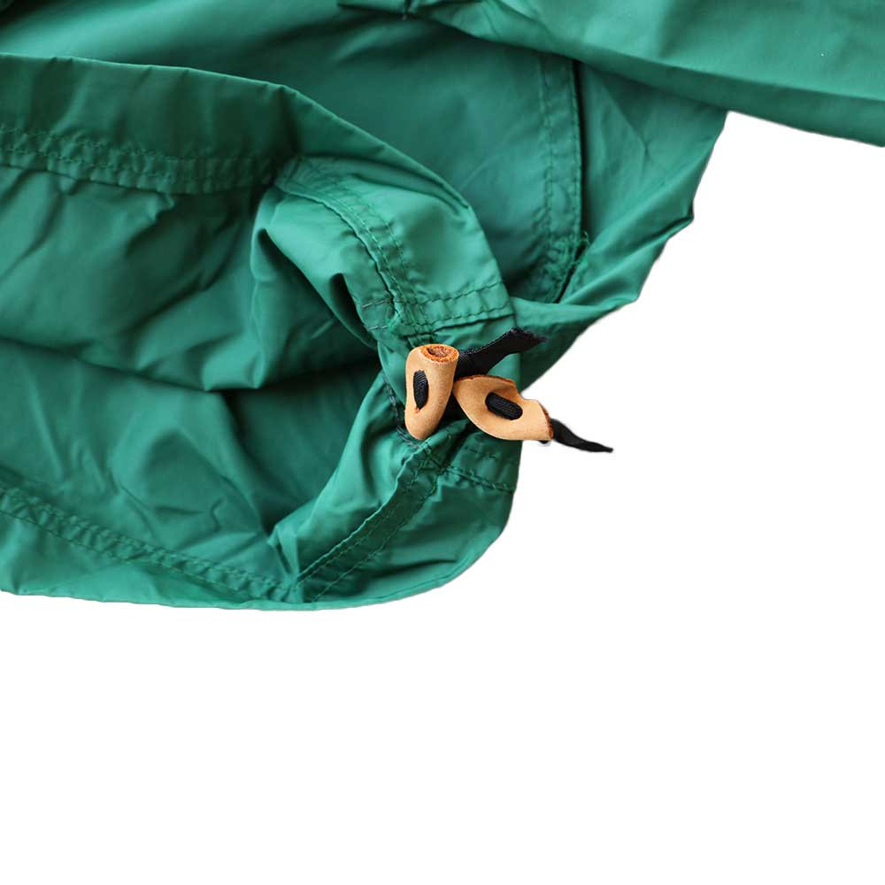 w-means(ダブルミーンズ) 80's L.L. Bean 100% Nylon Jacket(Made in U.S.A)表記M FORESTGREEN 詳細画像4