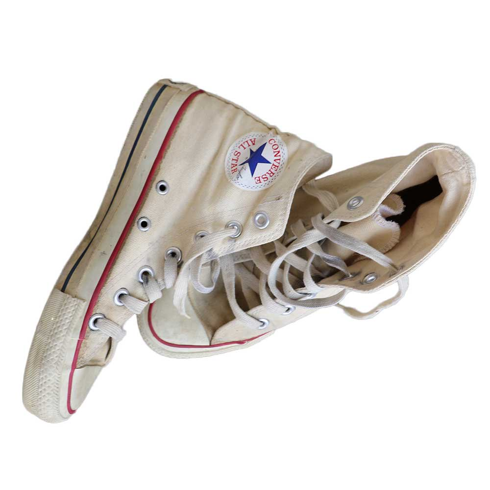 w-means(ダブルミーンズ) 80's Converse Allstar Hi(Made in U.S.A.)表記4  生成色 詳細画像1