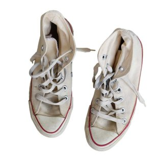 80's Converse Allstar Hi(Made in U.S.A.)表記4  生成色