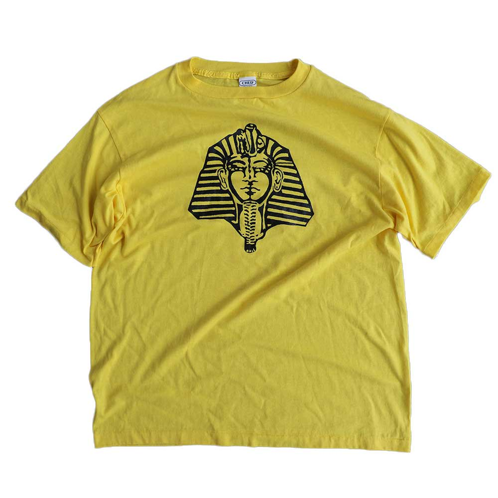 w-means(ダブルミーンズ) CHED by Anvil 50/50 半袖Tシャツ(Made in U.S.A.)表記xL  Yellow 詳細画像