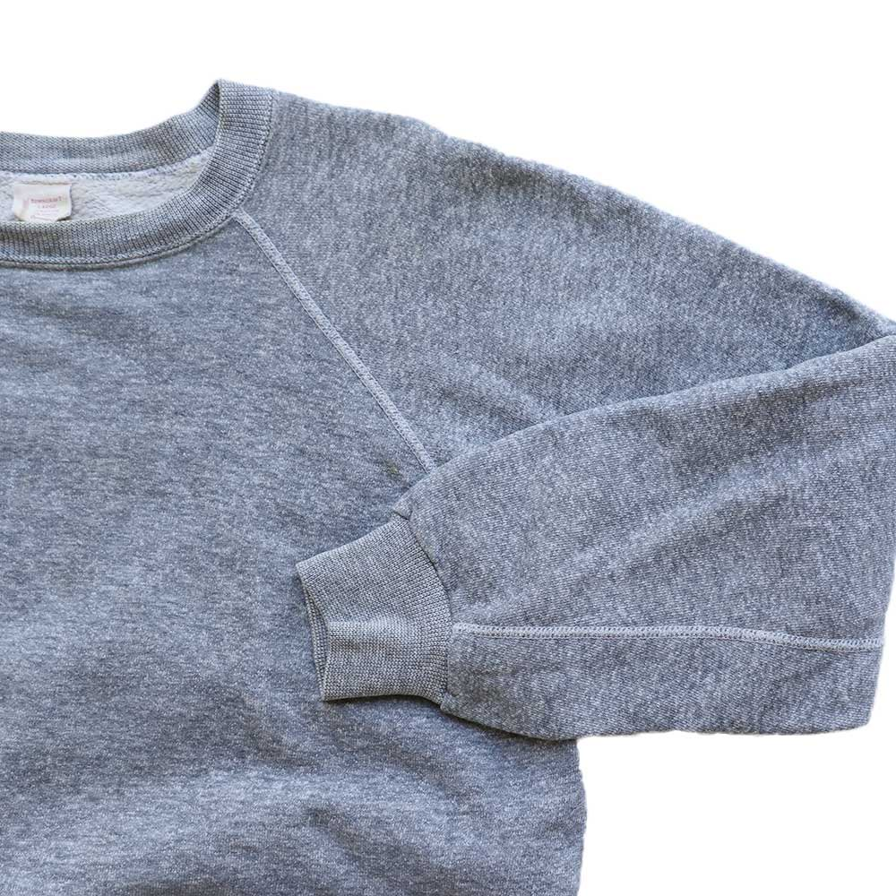w-means(ダブルミーンズ) Penneys TOWNCRAFT cotton crew sweat  表記L  ASH GRAY 詳細画像2