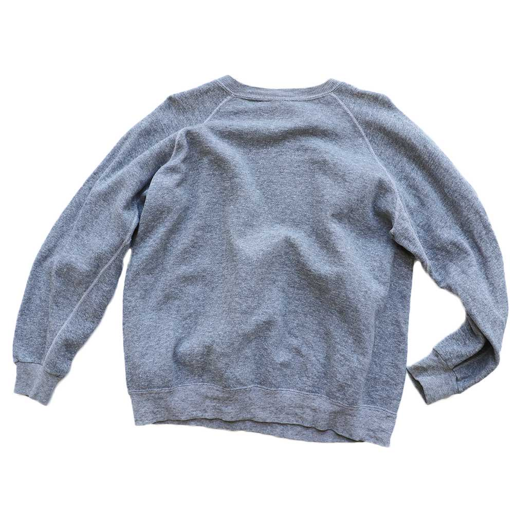 w-means(ダブルミーンズ) Penneys TOWNCRAFT cotton crew sweat  表記L  ASH GRAY 詳細画像3