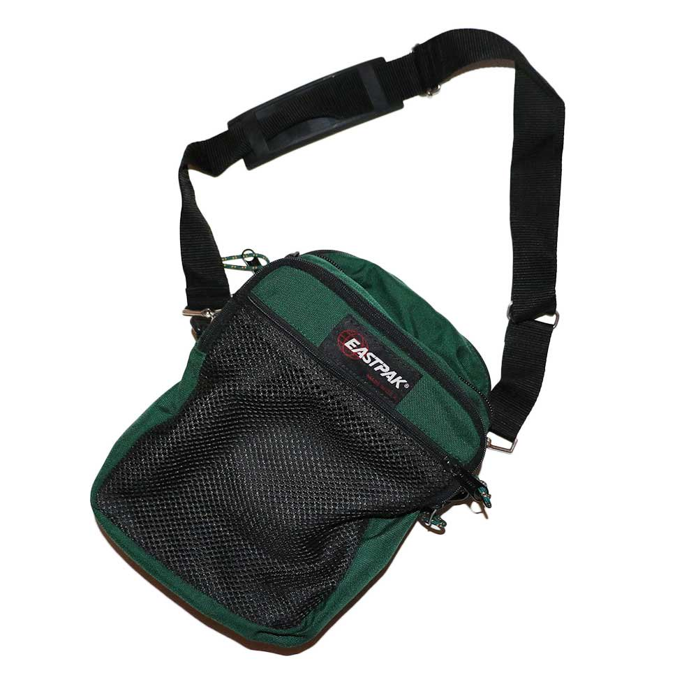 w-means(ダブルミーンズ) EASTPAK 2WAY ナイロンバック (Made in U.S.A.)  Forestgreen 詳細画像