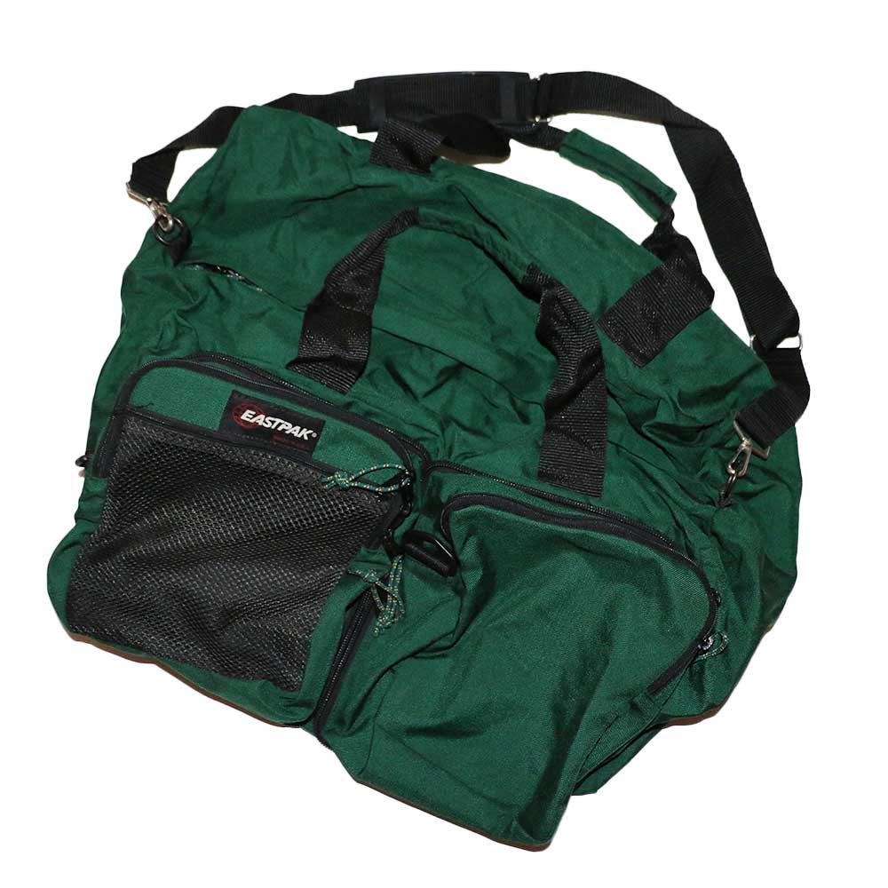 w-means(ダブルミーンズ) EASTPAK 2WAY ナイロンバック (Made in U.S.A.)  Forestgreen 詳細画像2