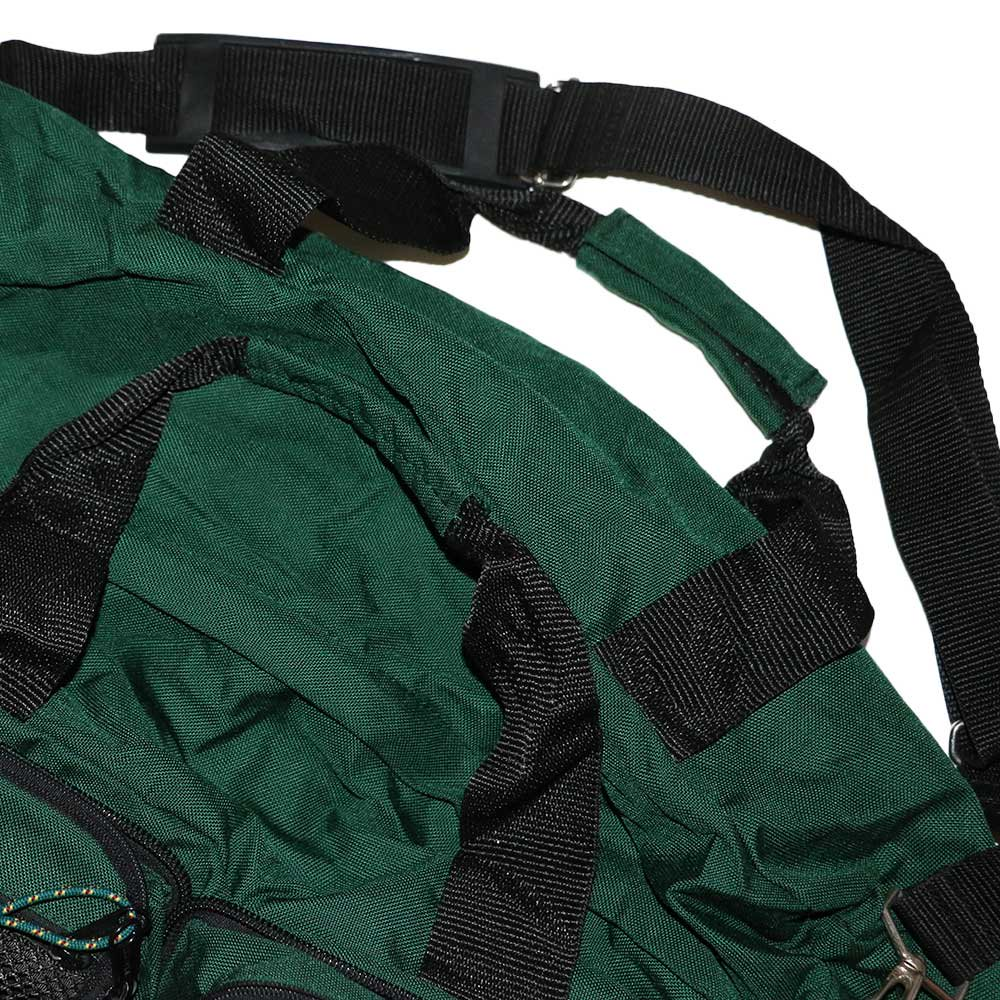 w-means(ダブルミーンズ) EASTPAK 2WAY ナイロンバック (Made in U.S.A.)  Forestgreen 詳細画像4