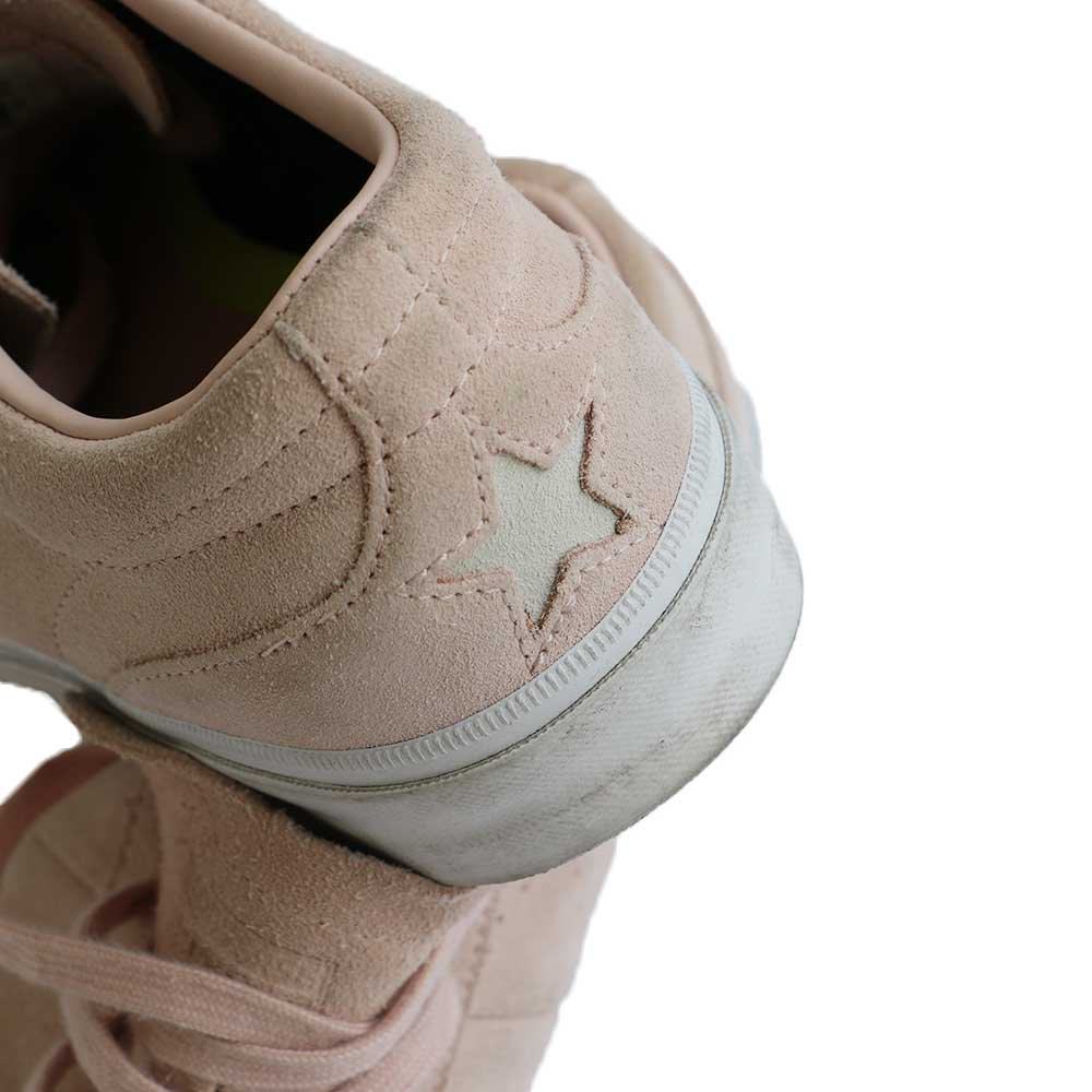 w-means(ダブルミーンズ) CONVERSE ONE STAR CC OX 表記9ハーフ  salmon pink 詳細画像2