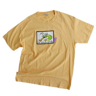 frog skateboards cotton 半袖Tシャツ  表記L  Cream