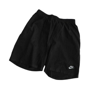 NIKE 100% コットンショートパンツ(Made in U.S.A.)Dead stock 表記L  Black