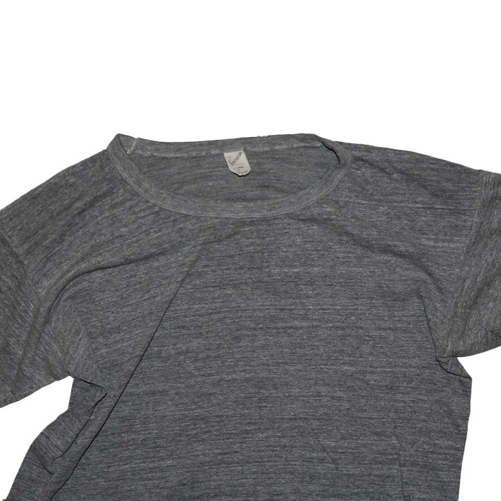 w-means(ダブルミーンズ) QUALITY PRODUCTS SPORTWEAR 半袖Tシャツ(Made in U.S.A.)表記xL  Gray 詳細画像2