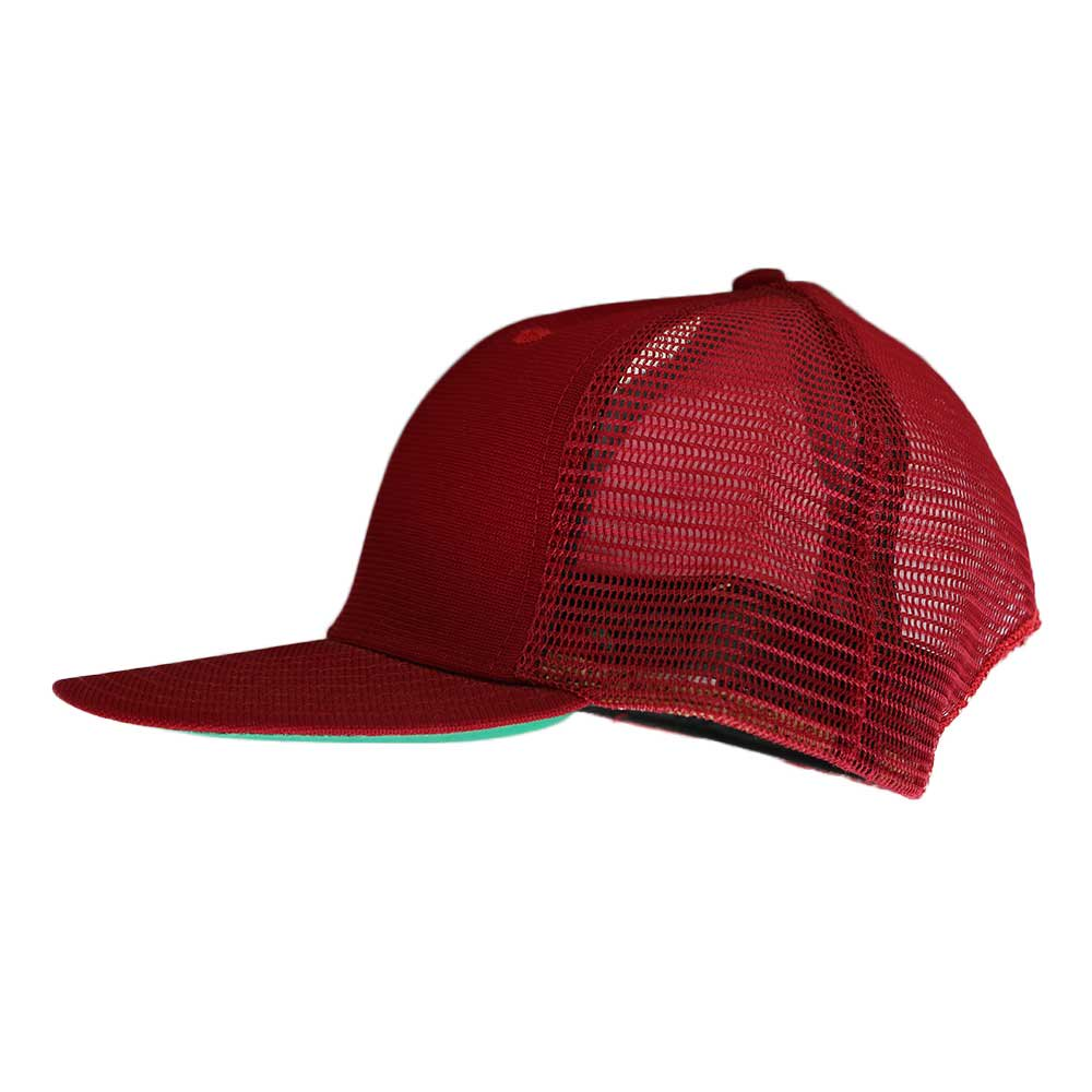w-means(ダブルミーンズ) New Era  メッシュキャップ(Made in U.S.A.)表記 ONE SIZE FITS ALL  Burgundy 詳細画像