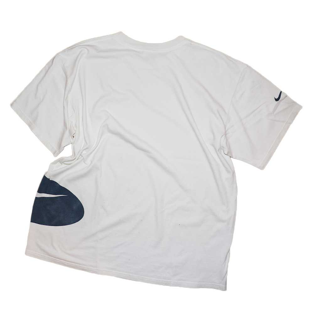w-means(ダブルミーンズ) NIKE 100%コットン半袖Tシャツ(Made in MEXCO)表記L  しろ 詳細画像2
