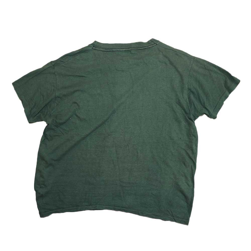 w-means(ダブルミーンズ) 70's Allcotton Pocket 半袖Tシャツ( Made in U.S.A.)表記 L  ForestGreen 詳細画像2