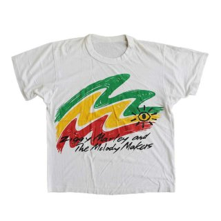 Ziggy Marley and The Melody Makers 半袖Tシャツ 表記なし  white