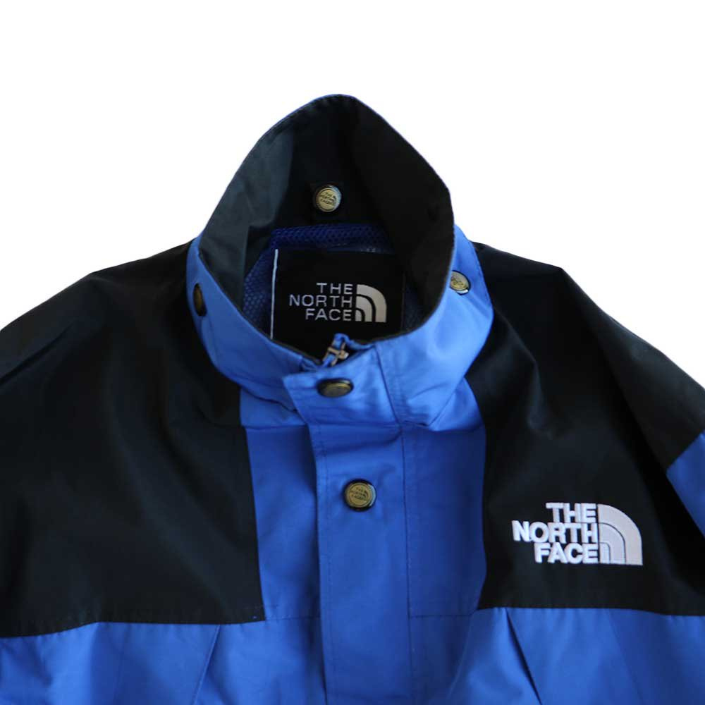 w-means(ダブルミーンズ) THE NORTH FACE GORE-TEX ジャケット 表記S Royal × Black 詳細画像1