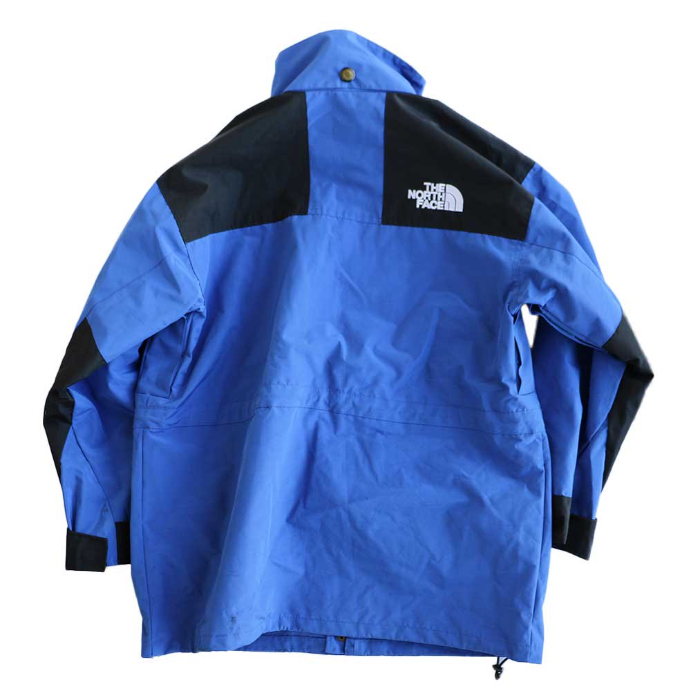 w-means(ダブルミーンズ) THE NORTH FACE GORE-TEX ジャケット 表記S Royal × Black 詳細画像5