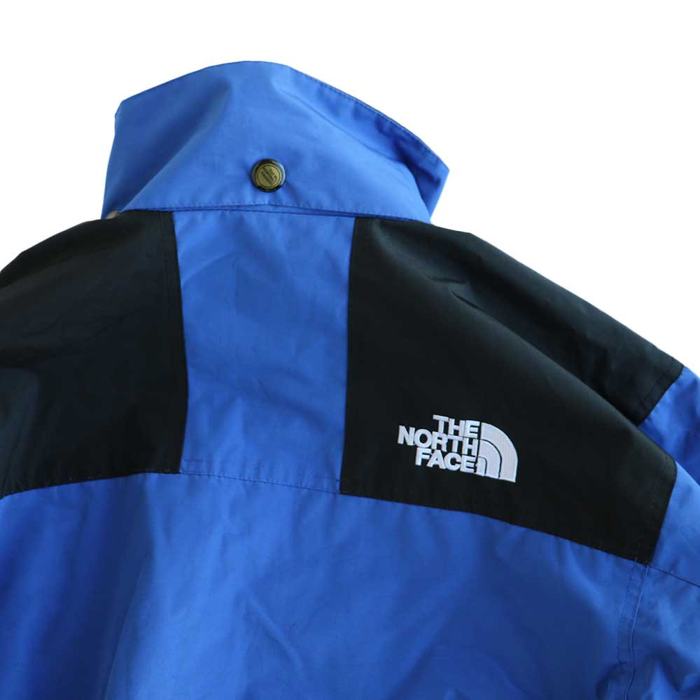 w-means(ダブルミーンズ) THE NORTH FACE GORE-TEX ジャケット 表記S Royal × Black 詳細画像6