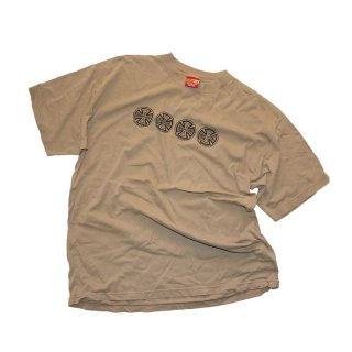 INDEPENDENT TRUCK COMPANY コットン半袖Tシャツ(Made in U.S.A.)表記xL  SAND