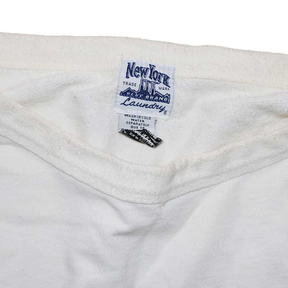 w-means(ダブルミーンズ) NewYork  BEST BRAND  Laundry ボートネックスウェットシャツ(Made in U.S.A.)表記M  White 詳細画像2