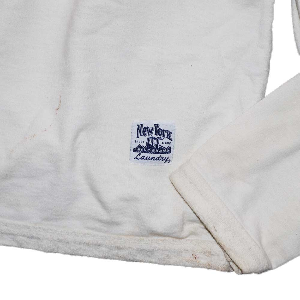 w-means(ダブルミーンズ) NewYork  BEST BRAND  Laundry ボートネックスウェットシャツ(Made in U.S.A.)表記M  White 詳細画像3
