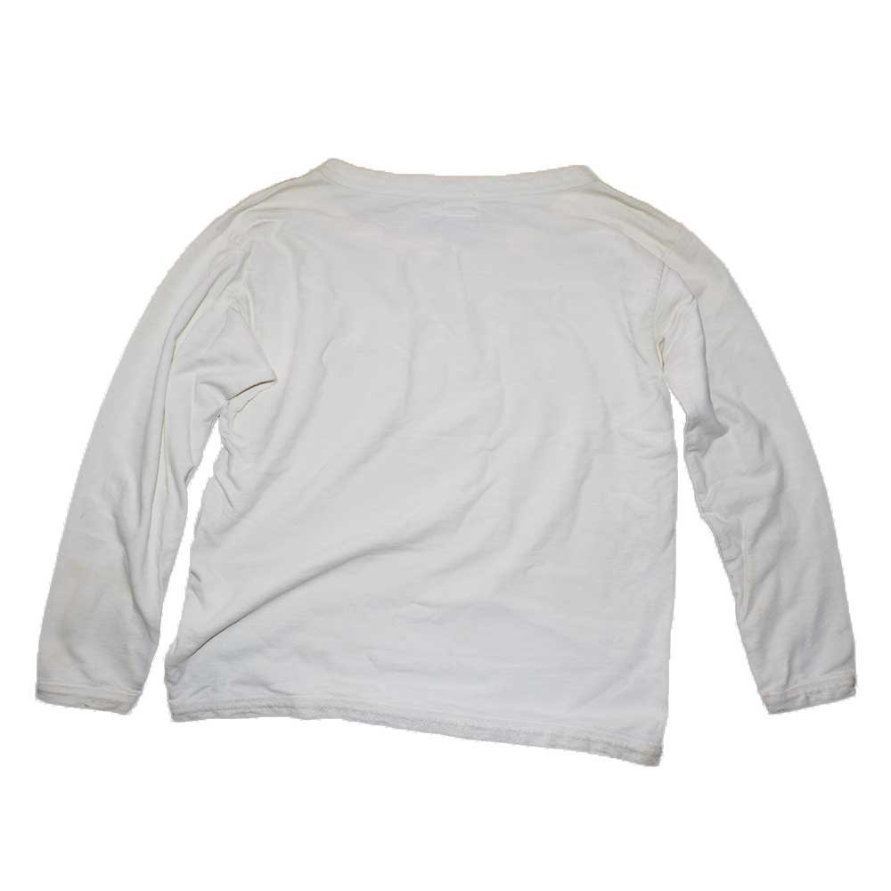w-means(ダブルミーンズ) NewYork  BEST BRAND  Laundry ボートネックスウェットシャツ(Made in U.S.A.)表記M  White 詳細画像4