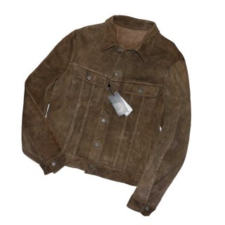 RALPH LAUREN LAMSUEDE Jacket(Made in ITALY)表記L 薄茶