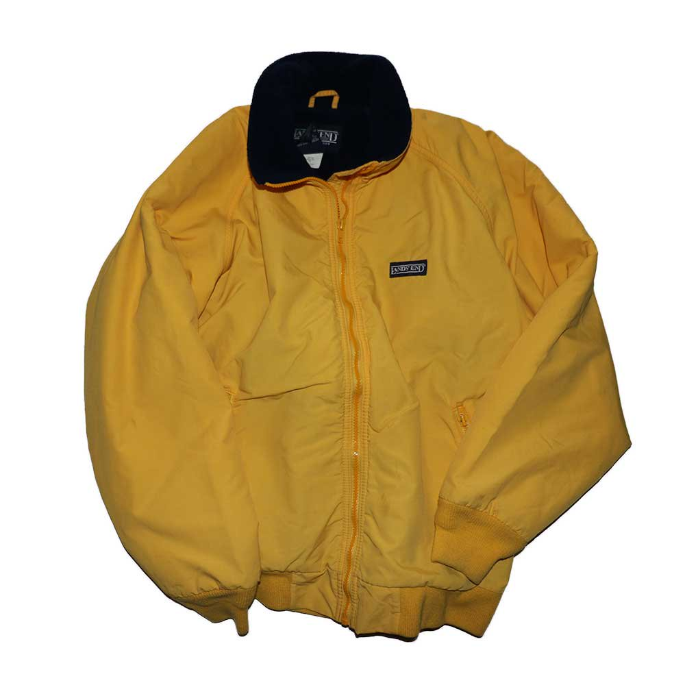 w-means(ダブルミーンズ) LANDS' END  SQUALL JACKET womens L-R Yellow 詳細画像