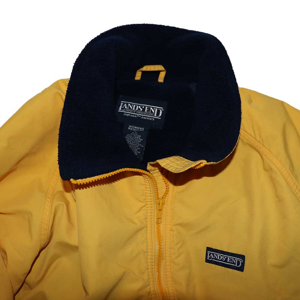 w-means(ダブルミーンズ) LANDS' END  SQUALL JACKET womens L-R Yellow 詳細画像1