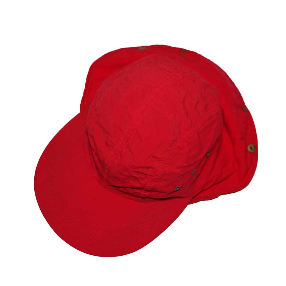 w-means(ダブルミーンズ) L.L.Bean Nylon Cap(Made in U.S.A.)表記 LARGE   Red 詳細画像4