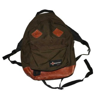 EASTPAK ナイロンバックパック(Made in U.S.A.)one size  chocolatebrown