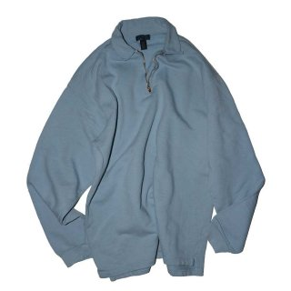 NON-FICTION ハーフジップスウェット(MADE IN CANADA)表記L/G  Light Blue