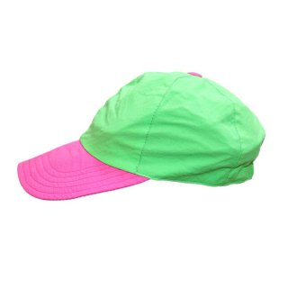 nordstorm ナイロンキャップ(Made in ITALY)one size fits all  Pink×L.Green