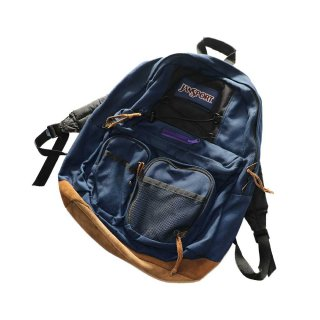JANSPORT ナイロンバックパック  one size  D.Navy