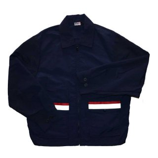 US UNIFORM COMPANY ナイロンジャケット(Made in U.S.A.) 表記L  D.NAVY