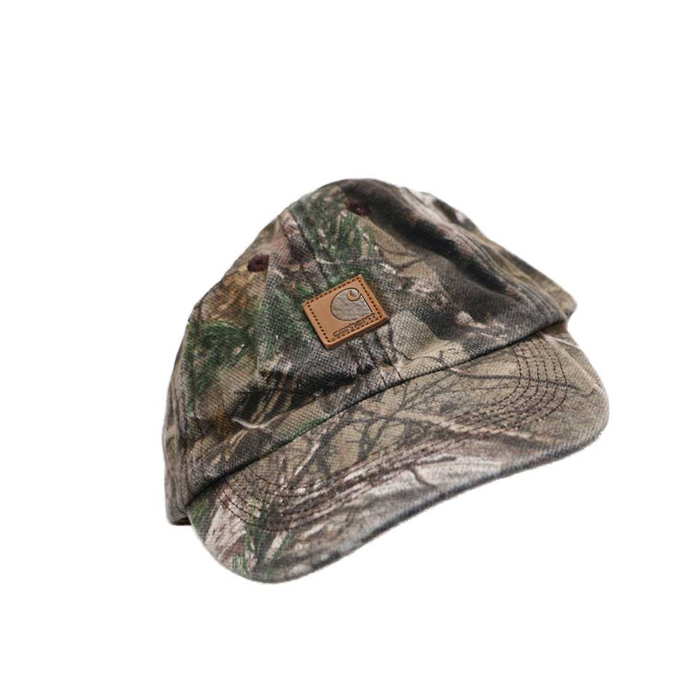 w-means(ダブルミーンズ) Carhartt 100% cotton キャップ  (kids)one size  realtree camo 詳細画像