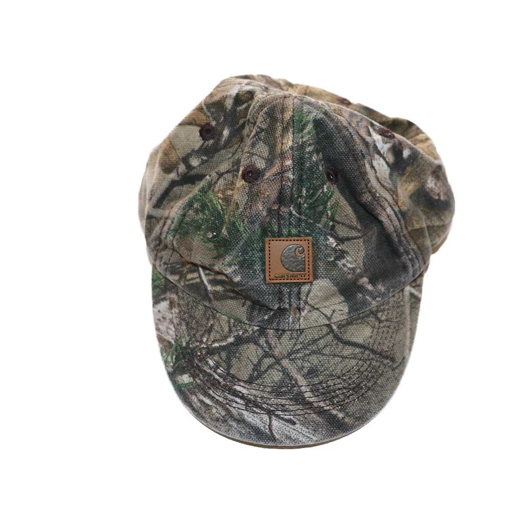 w-means(ダブルミーンズ) Carhartt 100% cotton キャップ  (kids)one size  realtree camo 詳細画像1