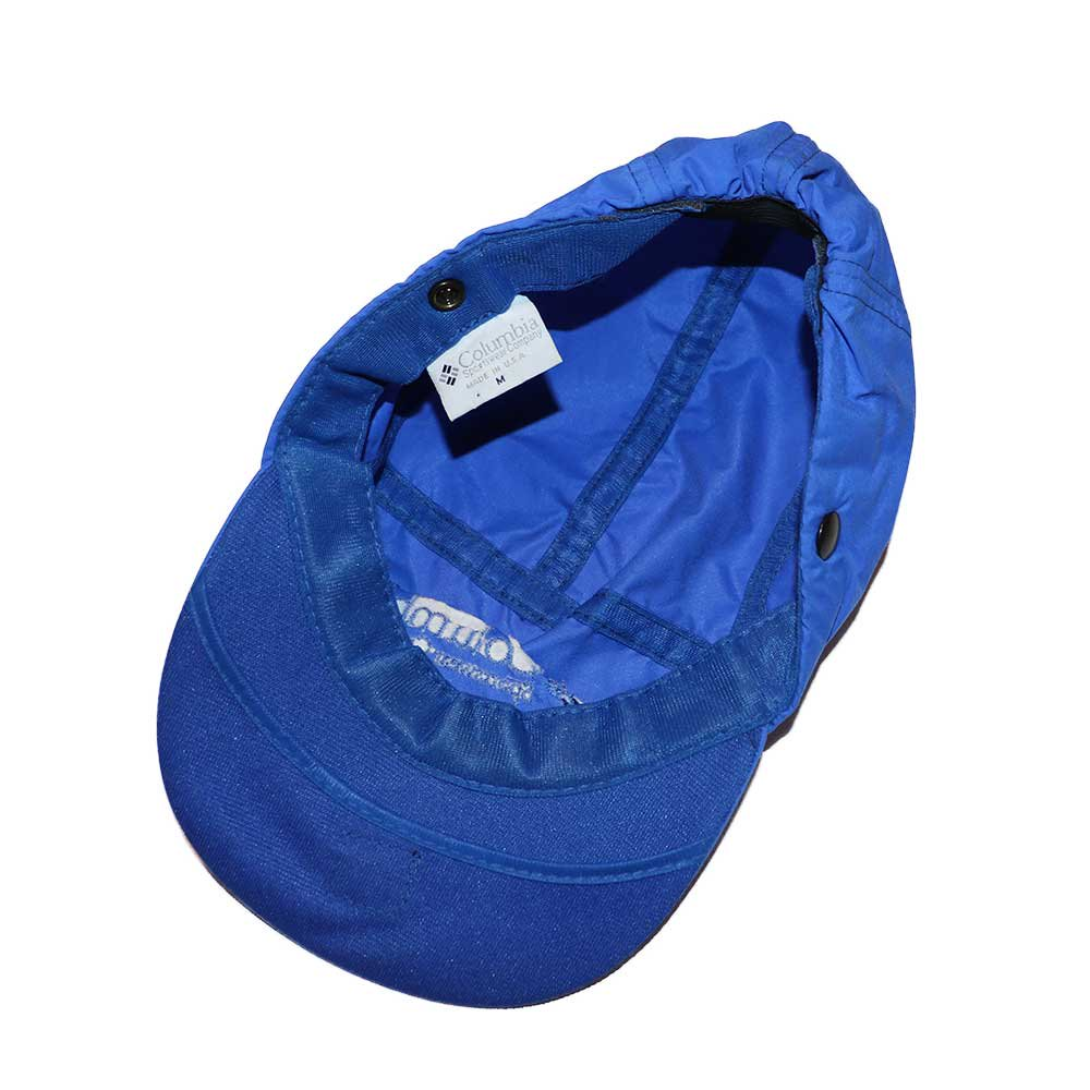 w-means(ダブルミーンズ) Columbia ナイロンキャップ (Made in U.S.A.)表記(Mens)M  ROYAL BLUE 詳細画像1